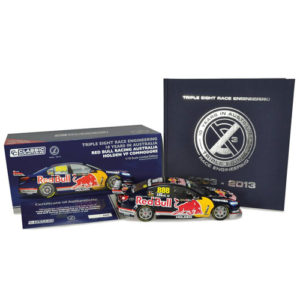 2013 Red Bull Triple Eight Celebrating 10 Year in Australia 1:18
