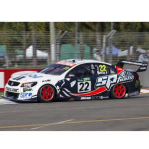 2015 HRT COURTNEY TOWNSVILLE 400 PETER BROCK TRIBUTE LIVERY 1:18