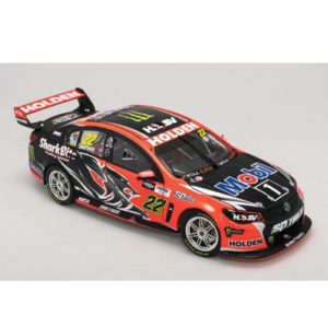 2016 HRT JAMES COURTNEY CLIPSAL 500 SEASON LIVERY 1:18