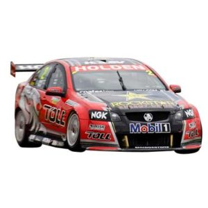 HRT BATHURST 2011 WINNER TANDER AND PRECAT 1:43