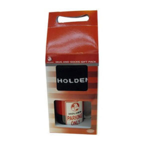 HOLDEN PARKING ONLY MUG AND SOCK GIFT SET