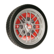 HOLDEN LED TYRE WALL CLOCK 10""