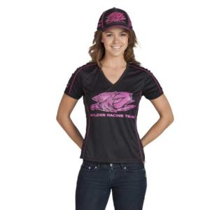 HOLDEN RACING TEAM HRT LADIES TEAM TEE BLACK 2012