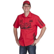 HOLDEN RACING TEAM HRT MENS TEAM SHIRT RED 2012