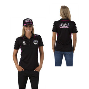 HOLDEN RACING TEAM LADIES TEAM POLO BLACK 2014