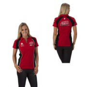 HOLDEN RACING TEAM LADIES TEAM POLO RED 2014