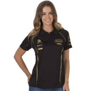 HOLDEN RACING TEAM LADIES POLO BLACK 2013
