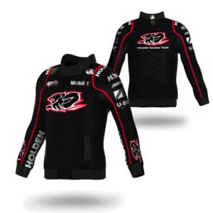 HOLDEN RACING TEAM MENS DRIVER JACKET RED PIPING 2016