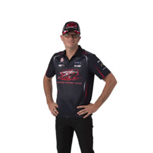 HOLDEN RACING TEAM MENS TEAM POLO BLACK 2014