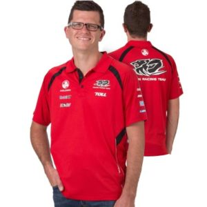 HOLDEN RACING TEAM MENS POLO RED 2013