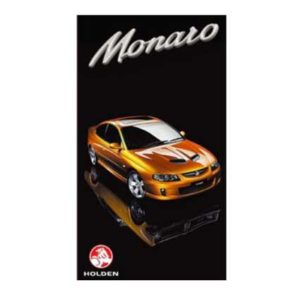 HOLDEN MONARO CV8 GREETING CARD 2012