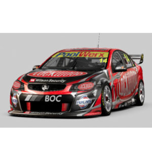 2013 HOLDEN VF COMMODORE 14 LOCKWOOD RACING SCALE 1:18