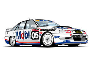 HOLDEN VN COMMODORE SS GROUP A #05 BROCK/MIEDECKE Bathurst
