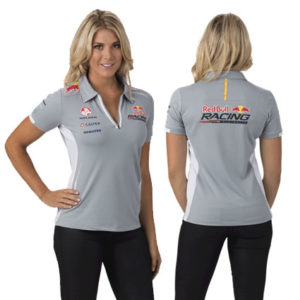 RED BULL RACING AUSTRALIA LADIES TEAM POLO GREY 2014