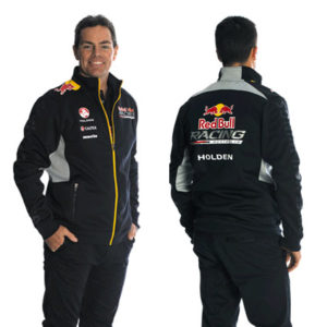 RED BULL RACING AUSTRALIA MENS TEAM SOFTSHELL TRACK JACKET 2014