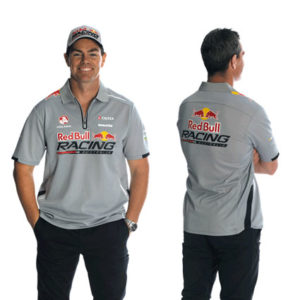 RED BULL RACING AUSTRALIA MENS TEAM POLO GREY 2014