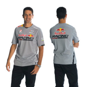 RED BULL RACING AUSTRALIA MENS TEAM T-SHIRT GREY 2014