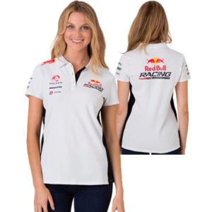 RED BULL RACING AUSTRALIA LADIES TEAM POLO WHITE/NAVY 2013