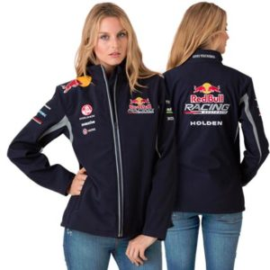 RED BULL RACING AUSTRALIA LADIES TEAM SOFTSHELL JACKET 2013