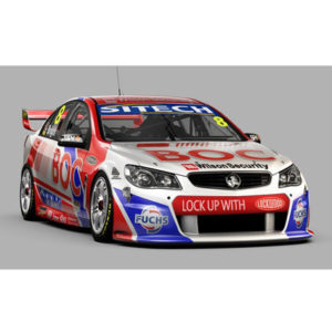 2013 HOLDEN VF COMMODORE TEAM BOC JASON BRIGHT 1:18