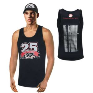 HOLDEN RACING TEAM MENS TEAM SINGLET 2015