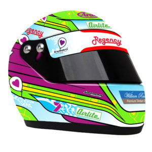 2013 JAMES COURTNEY SPECIAL EDITION MINI HELMET SCALE 1:2