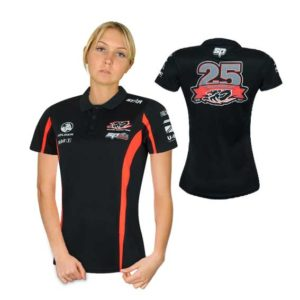 HOLDEN RACING TEAM LADIES TEAM POLO BLACK 2015