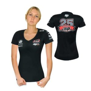 HOLDEN RACING TEAM LADIES TEAM T-SHIRT BLACK 2015