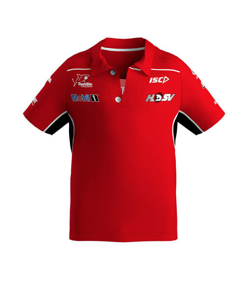 MOBIL1_HSV_RACING_KIDS_POLO_RED
